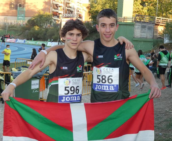 Sunahi Huegun eta Ibai Agirrezabal Espainiako Atletismo Txapelketan izan dira