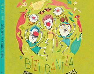 Pirritx, Porrotx eta Marimototsen 'Bizi dantza' disko liburua