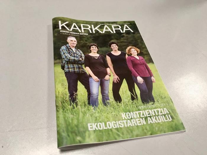 Kalean da urriko KARKARA aldizkaria